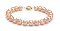 Pink 7-8mm AA Quality Freshwater Cultured Pearl Set