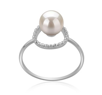 Andy White 6-7mm AAAA Quality Freshwater 925 Sterling Silver Cultured Pearl Ring