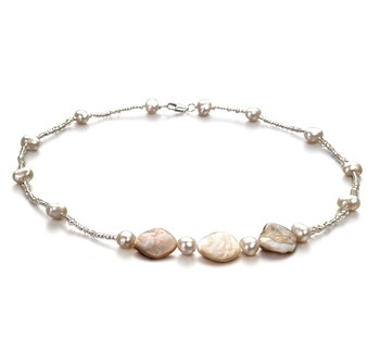 Ashley White 3.5-4mm A Quality Freshwater Cultured Pearl Necklace