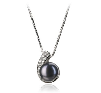 Claudia Black 7-8mm AA Quality Freshwater 925 Sterling Silver Cultured Pearl Pendant