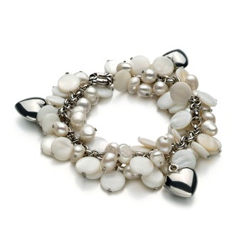 Harmony White 6-7mm A Quality Freshwater Cultured Pearl Bracelet