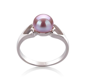 Jessica Lavender 6-7mm AA Quality Freshwater 925 Sterling Silver Cultured Pearl Ring