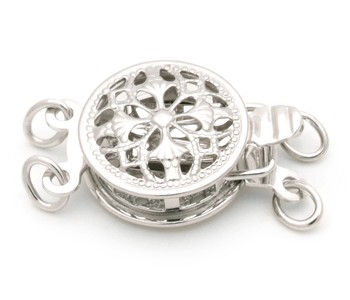 Lisbon - Alloy 925 Sterling Silver Cultured Pearl Clasp