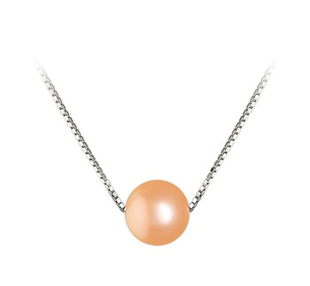 Madison Pink 8-9mm AA Quality Freshwater 925 Sterling Silver Cultured Pearl Pendant