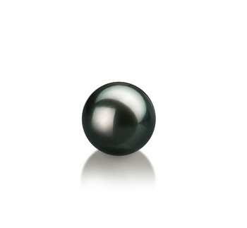 Black 7-8mm AAA Quality Japanese Akoya Cultured Pearl Loose Pearl