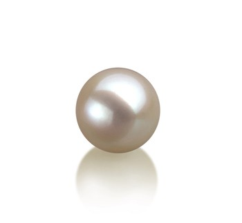 White 9-10mm AAAA Quality Freshwater Cultured Pearl Loose Pearl