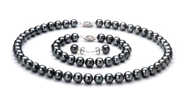 View Black Freshwater Pearl Set collection