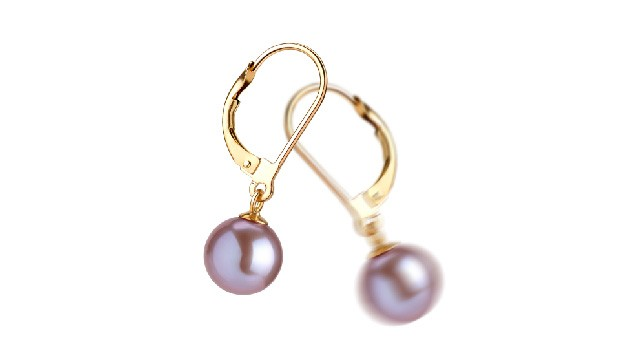 View Lavender Pearl Earrings collection